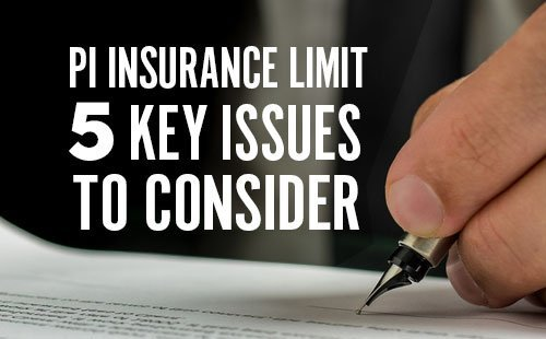 What professional indemnity insurance limit is adequate ...